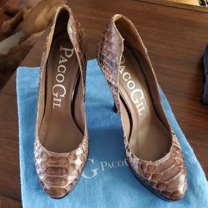 Paco Gil Python Heels